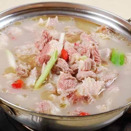苦瓜羊肉汤的做法