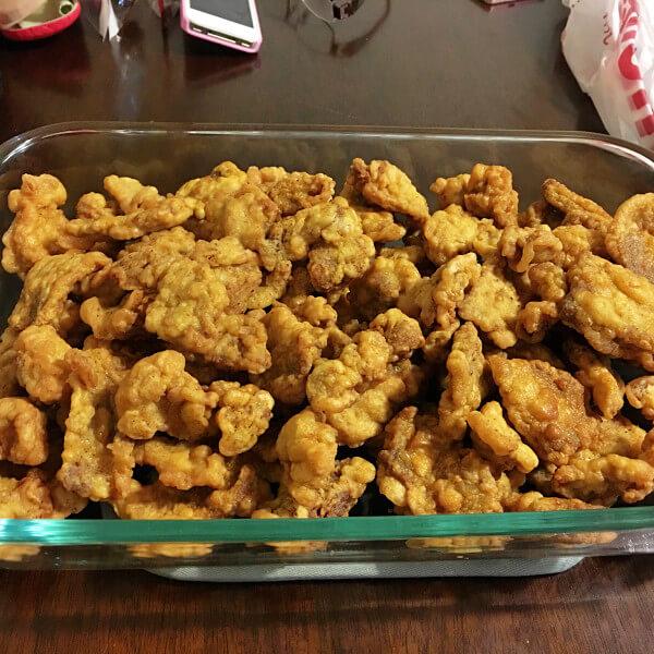 家常的豆酥肉酱面