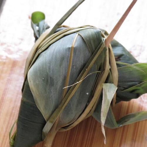 美味的四角粽