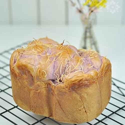 香芋紫薯土司
