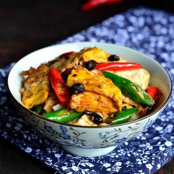 美味的辣椒豆腐