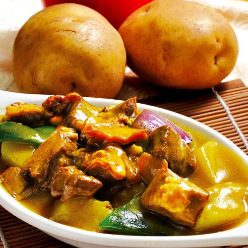 咖喱土豆牛肉做法