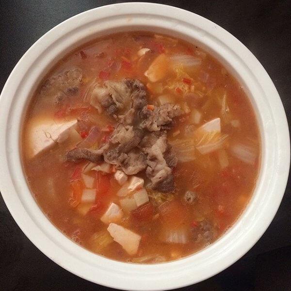 美味的牛肉罗宋汤