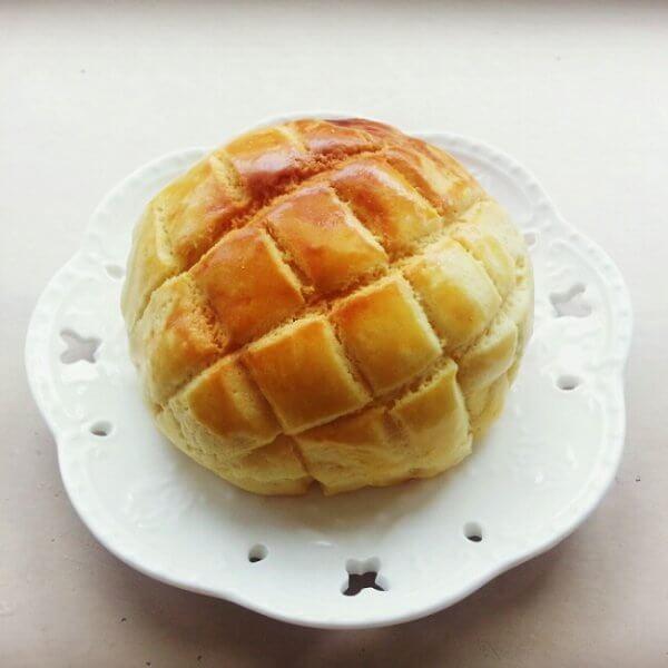 美味的香酥菠萝包
