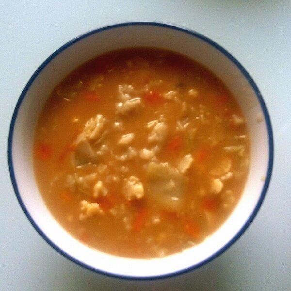 胡萝卜疙瘩汤