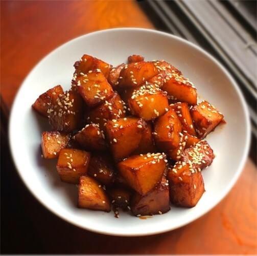 糖醋土豆块的做法