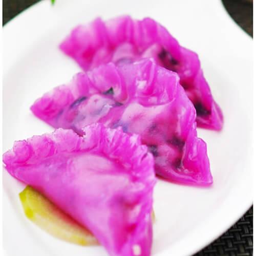 玉米韭菜荸荠饺