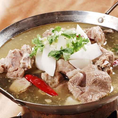 水煮羊肉卷的做法
