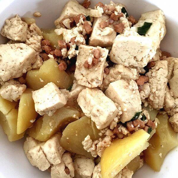 美味的土豆炖豆腐的做法
