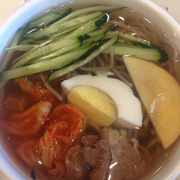 美味的朝鲜冷面的做法