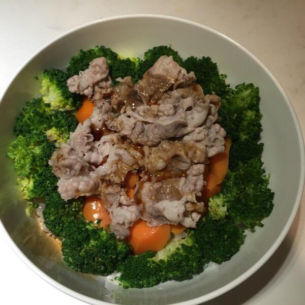 美味的日式牛肉盖饭的做法