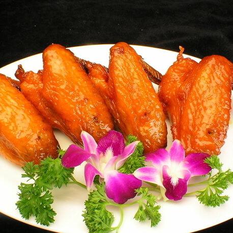 美味的香菇鸡翅