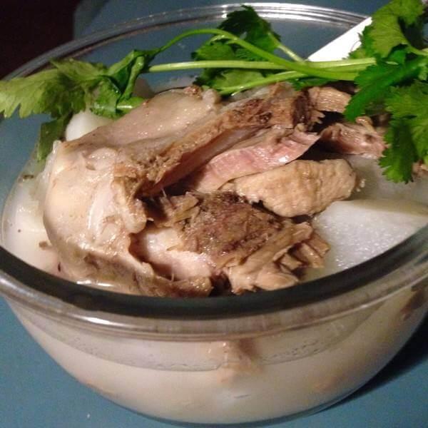 美味羊肉冲汤的做法