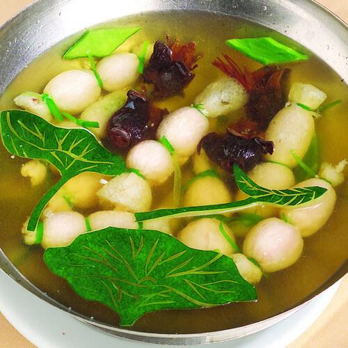 美味青瓜丸子汤