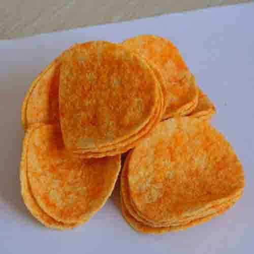高热量的香辣薯片