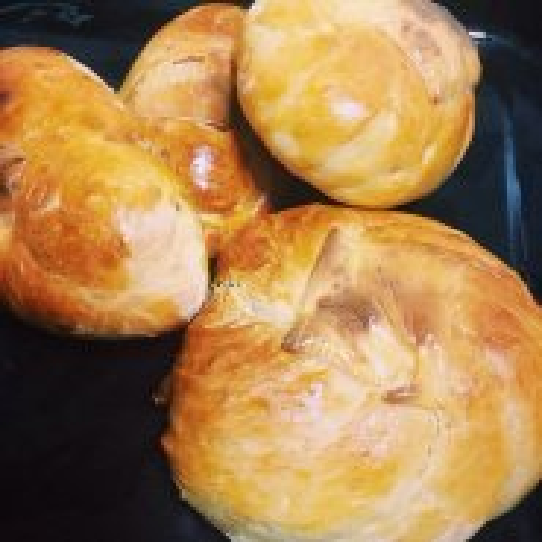 家常双馅红豆麻糬面包