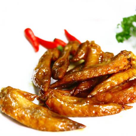 海鲜酱焖鸡翅尖
