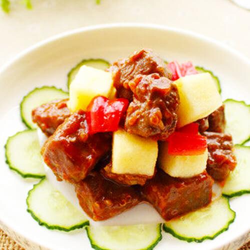 西餐煎牛肉的做法