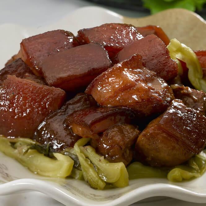 红焖猪肉的做法