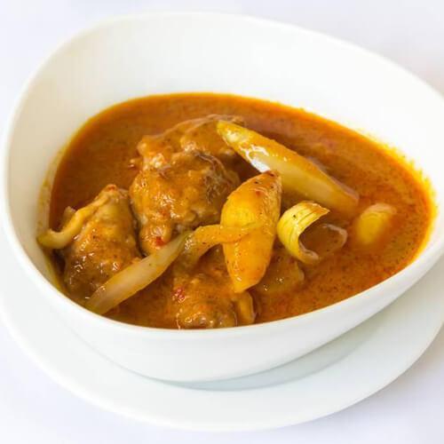 美味和风蔬菜咖哩锅