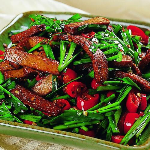 韭菜炒黄鳝