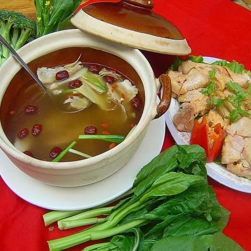 清汤火锅鸡的做法