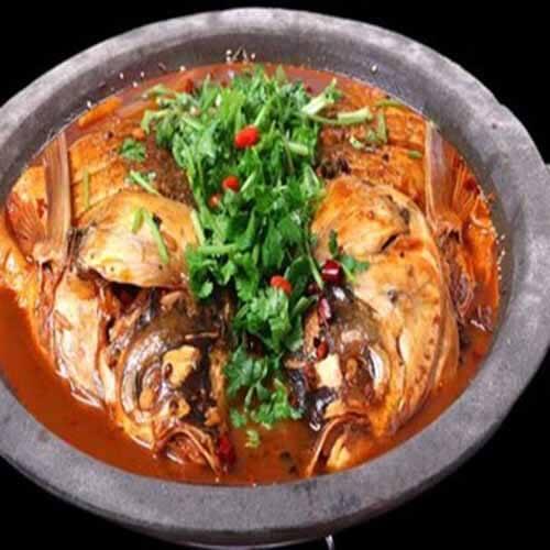 自制石锅焖鱼