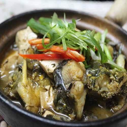 简单鱼焖豆腐的做法