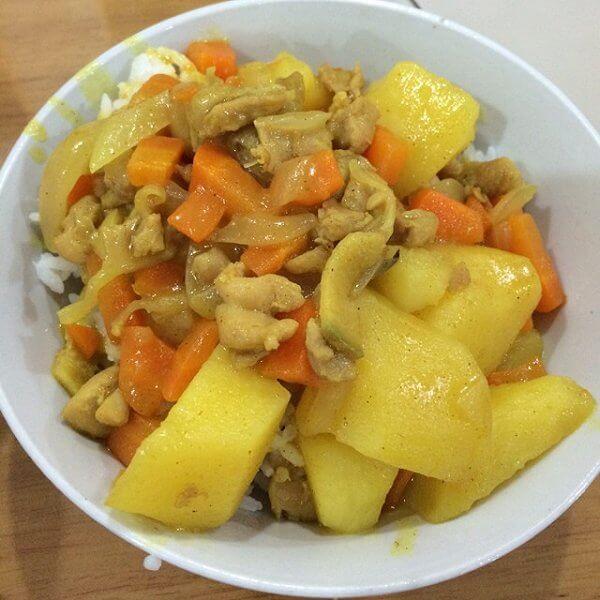 美味咖喱土豆鸡块的做法
