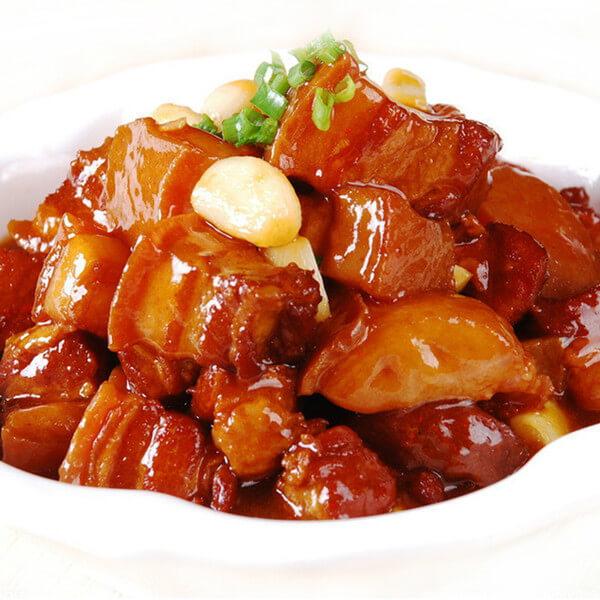 美味的红焖猪肉的做法