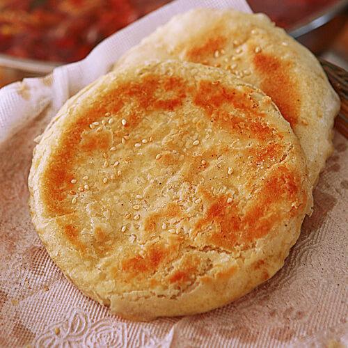 简单的正宗油酥烧饼的做法