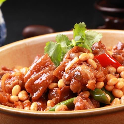 自制黄豆焖猪蹄的做法