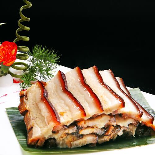 美味虾酱肉的做法