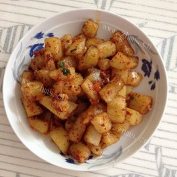 炸土豆小吃
