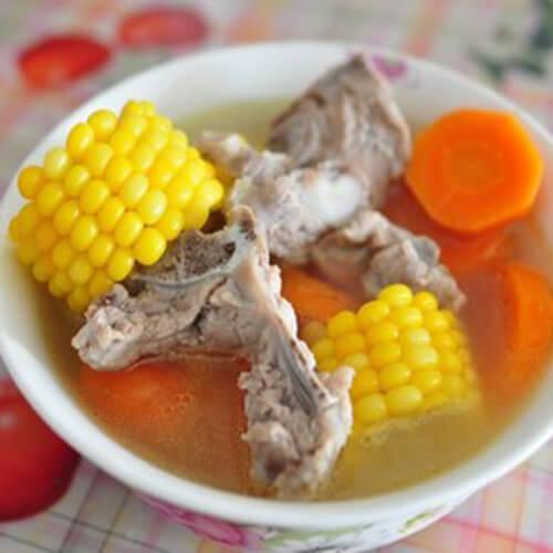 美味的胡萝卜猪骨汤