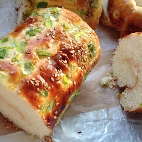 简单黄油面包卷