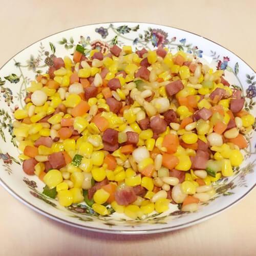 香甜的松子玉米的做法