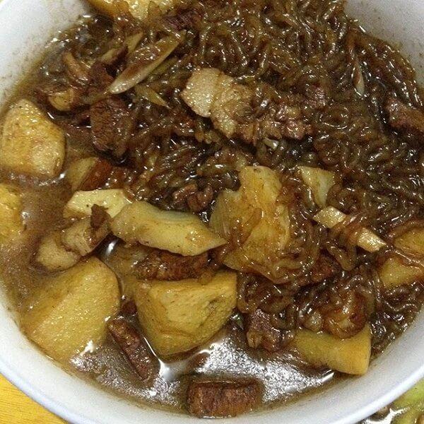 美味的东北土豆粉条