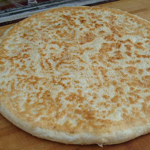 紫菜笋丝煎饼