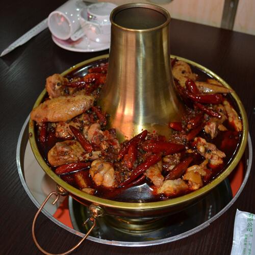 辣鸡火锅的做法