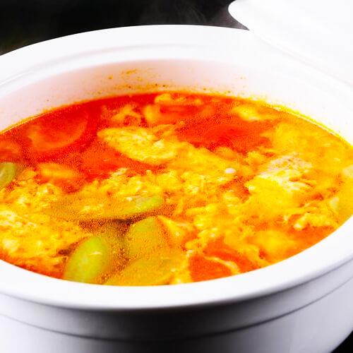 外婆做的西红柿汤