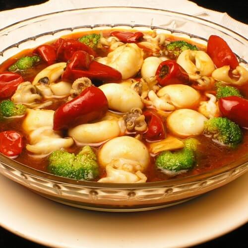 美味的泡椒豆腐