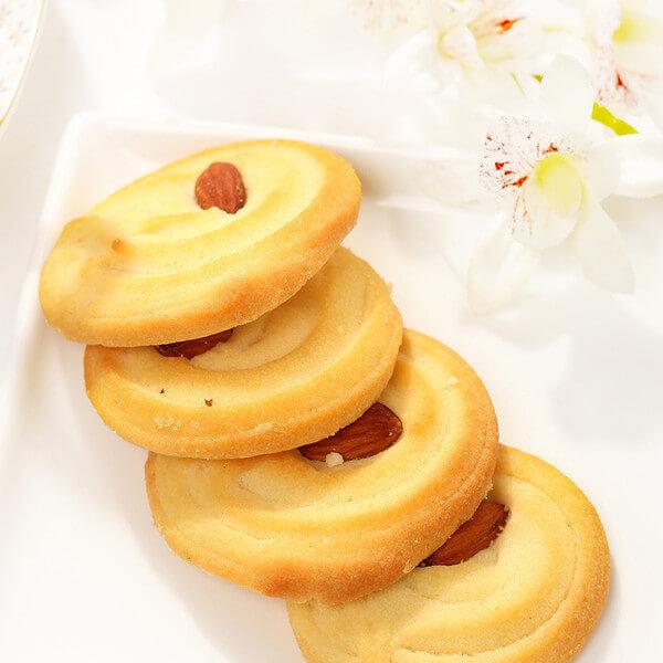 原味咖啡杏仁曲奇饼