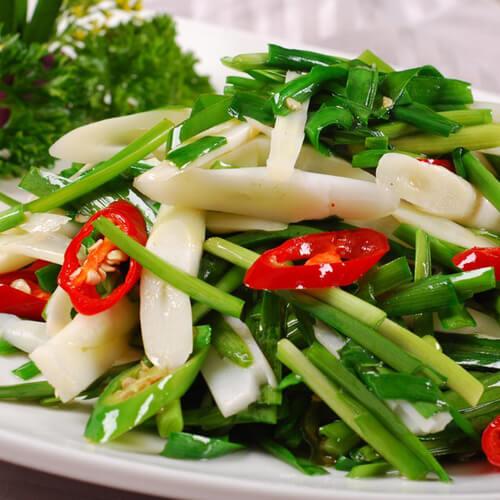 牡蛎炒韭菜