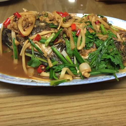 超级美味有营养的酸笋鱼