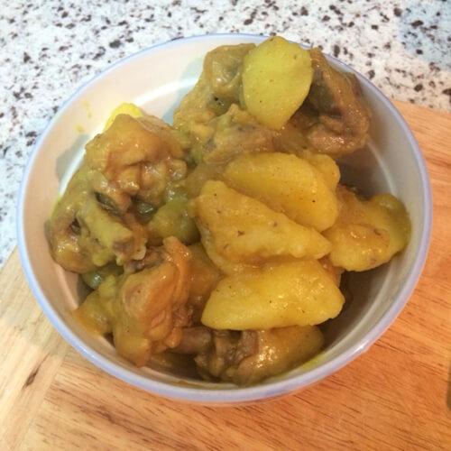 美味的咖哩土豆