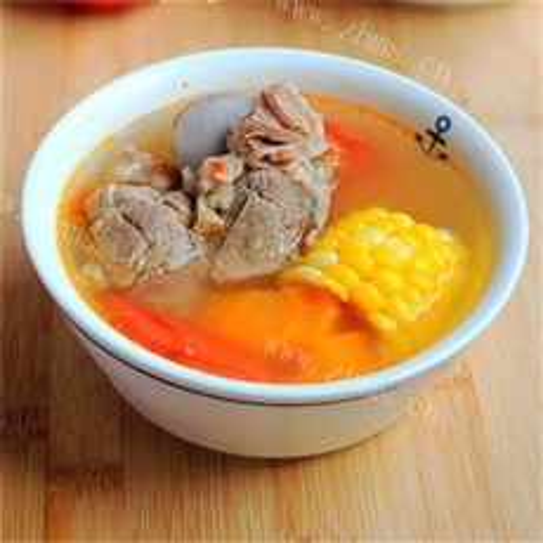 好吃的胡萝卜猪骨汤