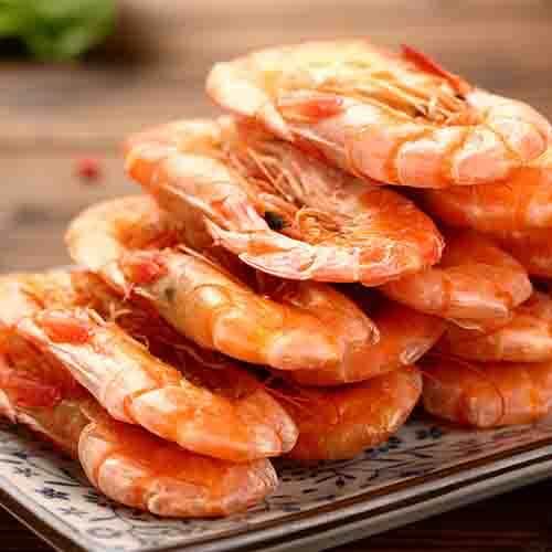 自制美味微波炉做虾