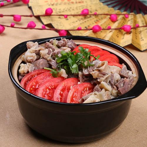 美味砂锅番茄牛肉的做法