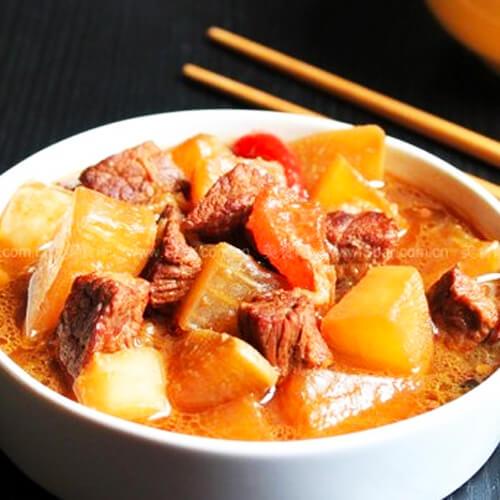 美味牛肉煲萝卜的做法